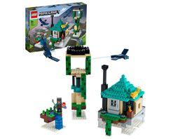 LEGO Minecraft 21173 Der Himmelsturm Minecraft Set mit einer Figur