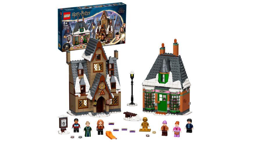LEGO Harry Potter 76388 Besuch in Hogsmeade Spielzeug mit Minifiguren