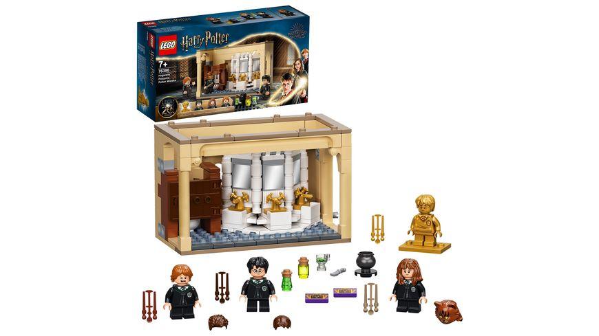 LEGO Harry Potter 76386 Hogwarts: Misslungener Vielsaft-Trank Set