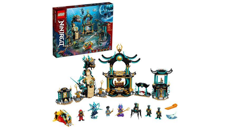 LEGO NINJAGO 71755 Tempel des unendlichen Ozeans Set mit Mini Figuren