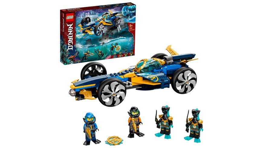 LEGO NINJAGO 71752 Ninja-Unterwasserspeeder U-Boot Spielzeug