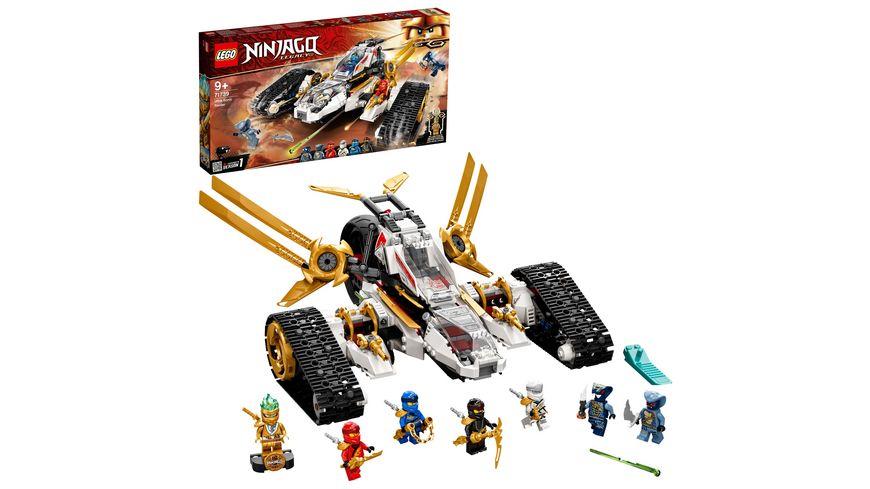 LEGO NINJAGO 71739 Ultraschall-Raider Konstruktionsspielzeug Set