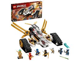 LEGO NINJAGO 71739 Ultraschall Raider Konstruktionsspielzeug Set