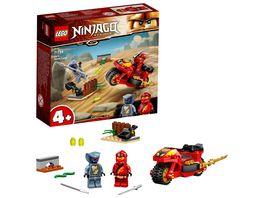 LEGO NINJAGO 71734 Kais Feuer Bike Motorrad Spielzeug Set ab 4 Jahren