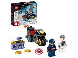 LEGO Marvel Super Heroes 76189 Duell zwischen Captain America und Hydra Set