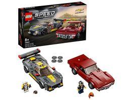 LEGO Speed Champions 76903 Chevrolet Corvette C8 R 1968 Chevrolet Corvette