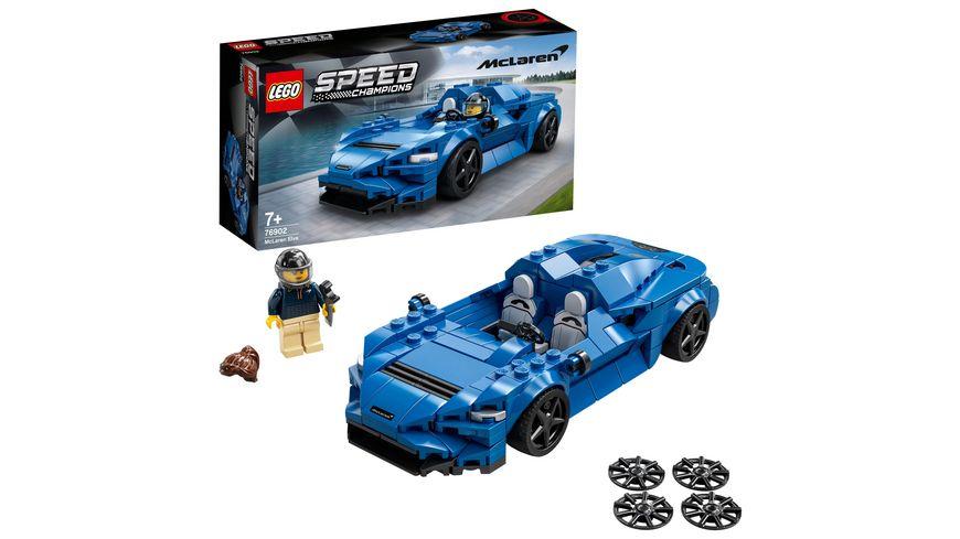 LEGO Speed Champions 76902 McLaren Elva Rennwagen Spielzeugauto