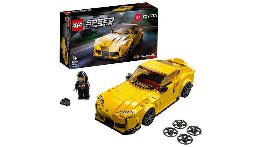 LEGO Speed Champions 76901 Toyota GR Supra Rennwagen Spielzeugauto