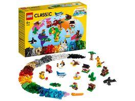 LEGO Classic 11015 Einmal um die Welt Bausteine Spielzeug ab 4 Jahre