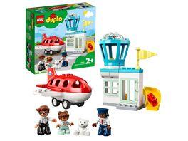 LEGO DUPLO 10961 Flugzeug Flughafen Spielzeug ab 2 Jahre