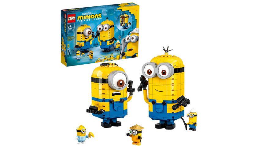 LEGO Minions 75551 Minions-Figuren Bauset mit Versteck Spielzeug