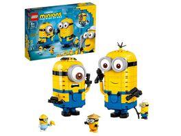 LEGO Minions 75551 Minions Figuren Bauset mit Versteck Spielzeug