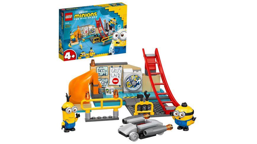 LEGO Minions 75546 Minions in Grus Labor Spielzeug ab 4 Jahre