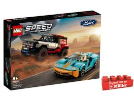 LEGO Speed Champions 76905 Ford GT Heritage Edition und Bronco R