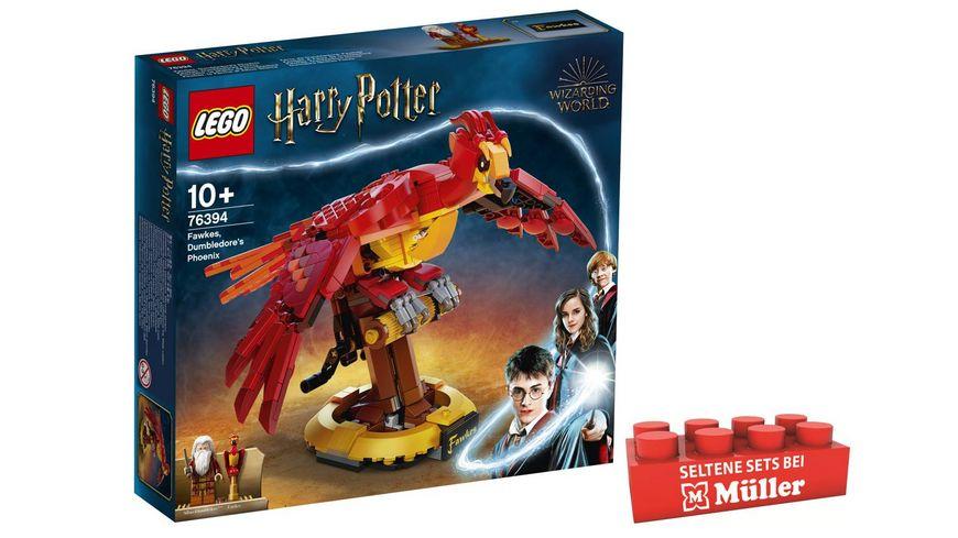 LEGO Harry Potter 76394 Fawkes, Dumbledores Phönix