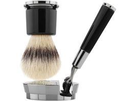 ACQUA DI PARMA Barbiere Black Razor and Brush