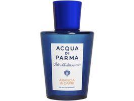 ACQUA DI PARMA Blu Mediterraneo Arancia di Capri Entspannendes Duschgel