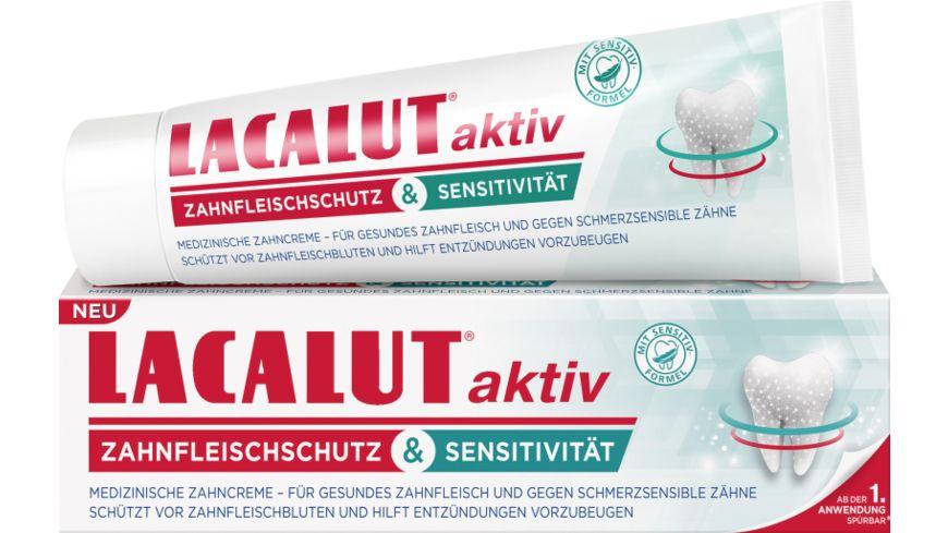 LACALUT aktiv& Sensitivität Zahncreme