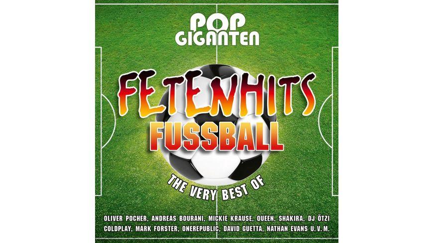 Pop Giganten-Fetenhits Fußball (Best Of)