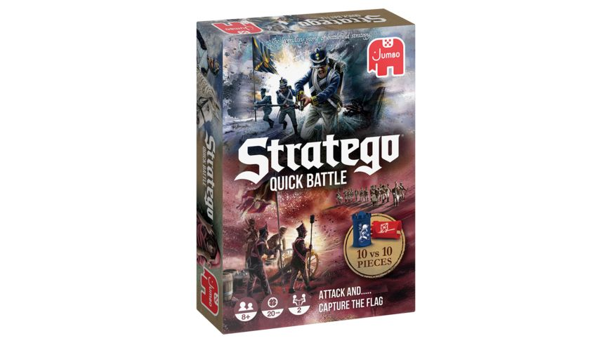 Jumbo Spiele - Stratego Quick Battle