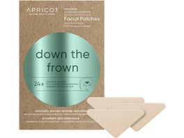 APRICOT BEAUTY AND HEALTHCARE Facial Patches down the frown gruen mit Hyaluron