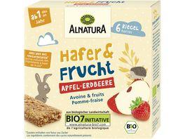 Alnatura Hafer Frucht Apfel Erdbeere 138G Baby