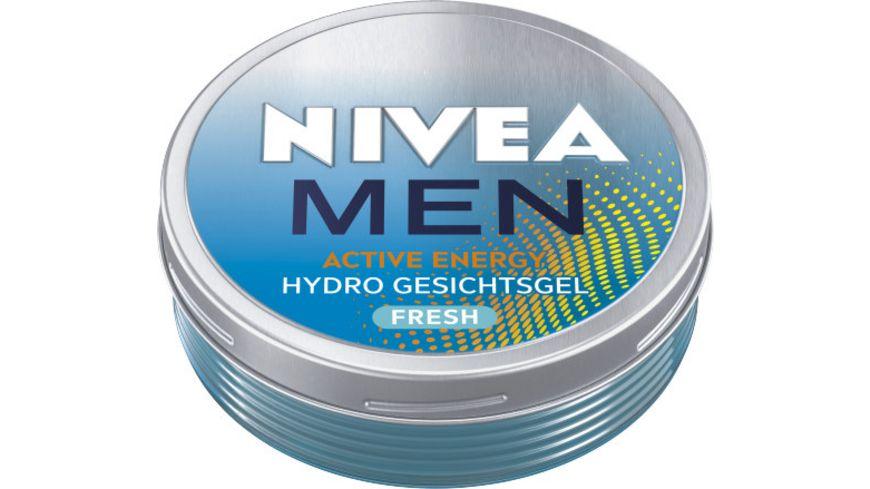 NIVEA MEN Active Energy Hydro Gesichtsgel 75ml
