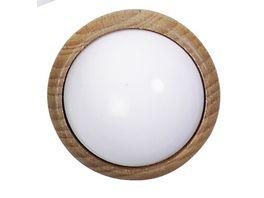 Kahlert Licht 10331 Wand oder Deckenlampe Holz rund