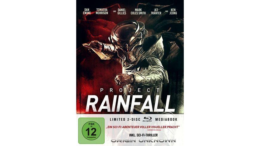 Project Rainfall LTD. - Limitiertes 2-BD-Mediabook samt FSK-Umleger
