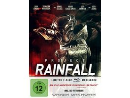Project Rainfall LTD Limitiertes 2 BD Mediabook samt FSK Umleger