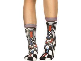 wigglesteps Damen Socken Chess Pieces