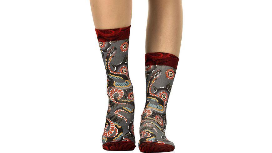 wigglesteps Damen Socken Basilisk