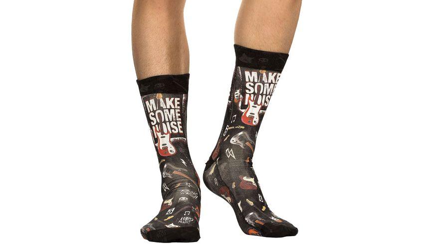 wigglesteps Herren Socken Make Some Noise