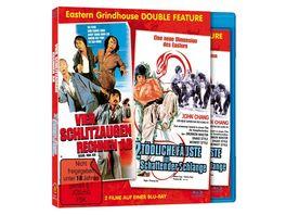 Vier Schlitzaugen rechnen ab Zwei toedliche Faeuste Eastern Grindhouse Double Feature Vol 2 Limited Edition und durchnummeriert auf 1000 Stueck