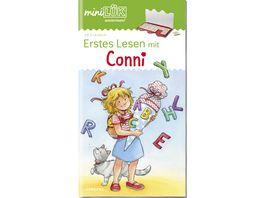 miniLUeK Uebungshefte miniLUeK Vorschule Vorschule 1 Klasse Erstes Lesen mit Conni