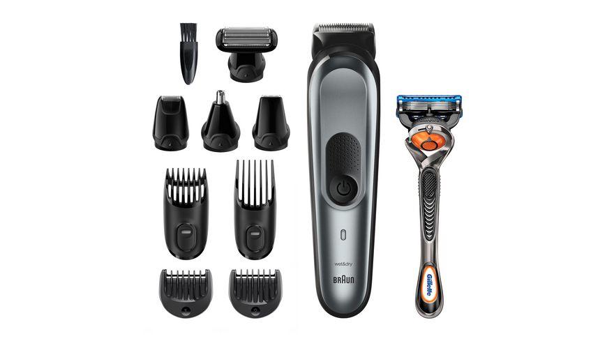 BRAUN Bartschneider Multi-Grooming-Kit 10-in-1 MGK7221