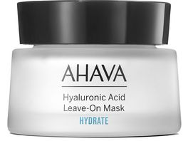 AHAVA Hyaluronic Acid Leave on Mask