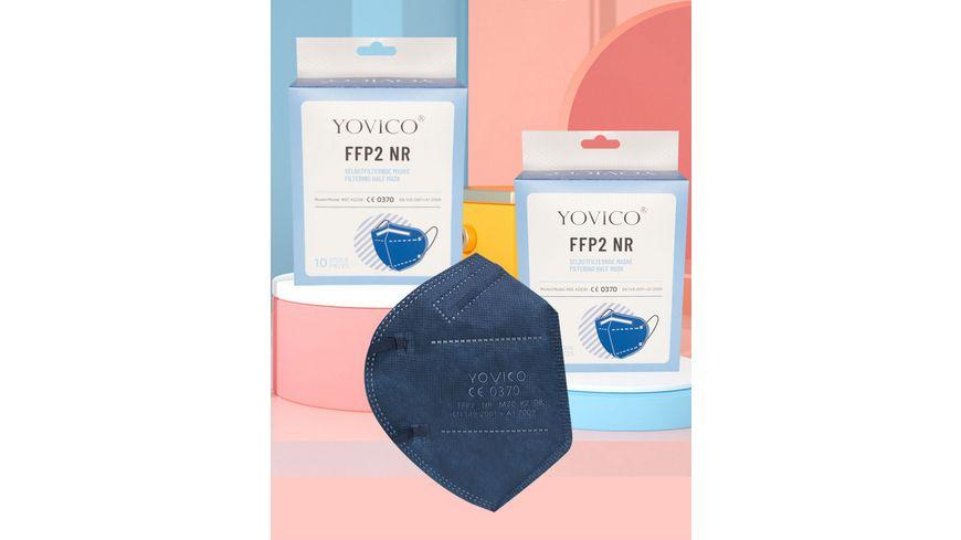 YOVICO Filtering Half Mask FFP2 NR *BLUE