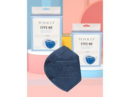 YOVICO Filtering Half Mask FFP2 NR BLUE