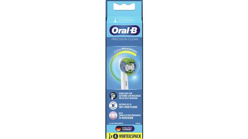 Oral-B Aufsteckbuersten Clean Precision Clean Maximizer 4er