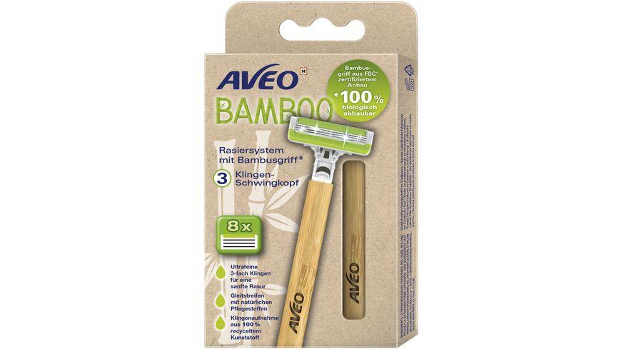AVEO  Bambus Rasierer