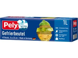 Pely KLIMA NEUTRAL Gefrierbeutel 1 Liter