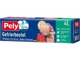 Pely KLIMA NEUTRAL Gefrierbeutel 4 Liter