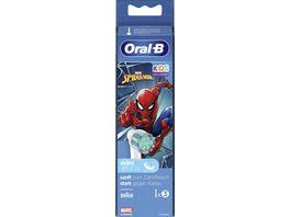 Oral B Aufsteckbuersten Spiderman