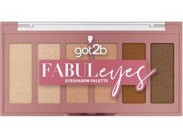 Schwarzkopf got2b Eyeshadow Palette Fabuleyes
