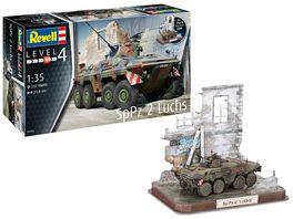 Revell 03321 SpPz2 Luchs 3D Puzzle Diorama