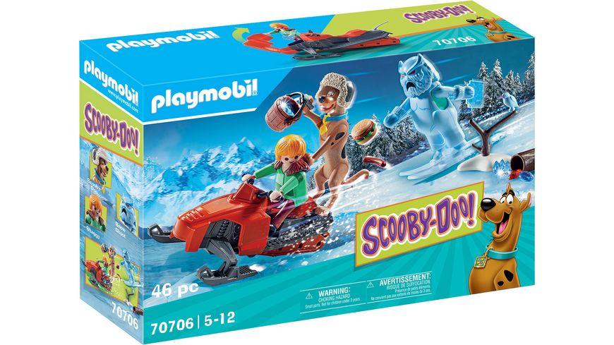 PLAYMOBIL 70706 - SCOOBY-DOO! Abenteuer mit Snow Ghost