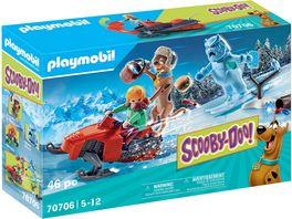 PLAYMOBIL 70706 SCOOBY DOO Abenteuer mit Snow Ghost