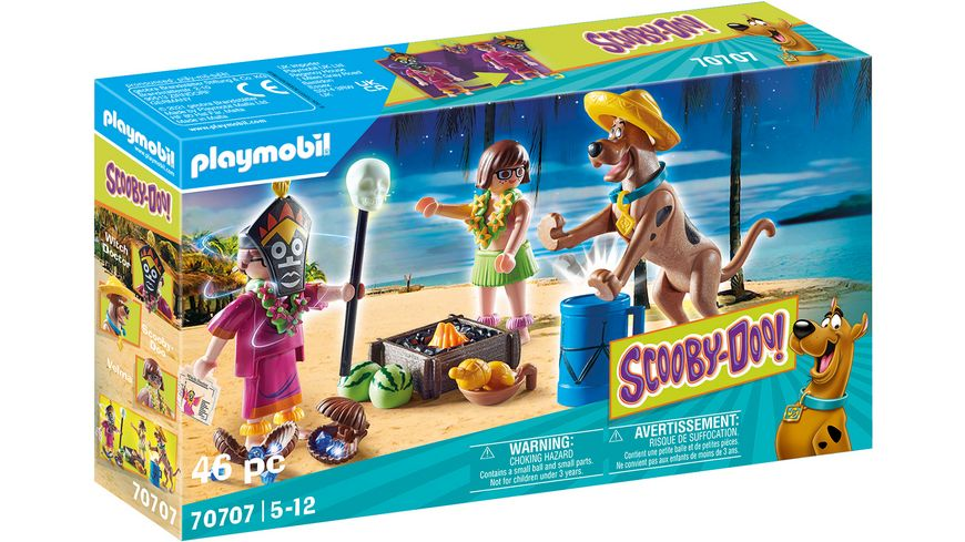 PLAYMOBIL 70707 - SCOOBY-DOO! Abenteuer mit Witch Doctor