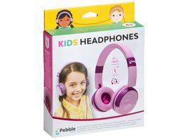 Pebble Gear KIDS HEADPHONE pink